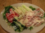 生ハムとスティック野菜のサラダ♪.jpg