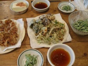 こしあぶらと豚肉の天ぷら♪.jpg