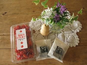 ベランダの花ときくちゃんのお土産と♪.jpg