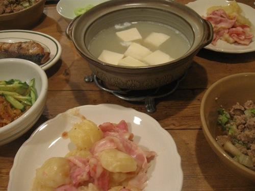 ベーコンジャガイモも白菜ひき肉もおいしかったな~♪.jpg