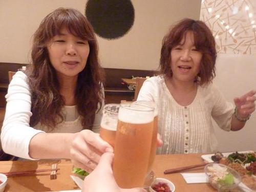 初日無事終了~♪かんぱ~い(^0^)♪.JPG