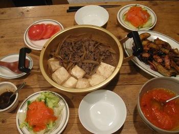 夕ごはんはごぼうと牛肉の煮物.jpg