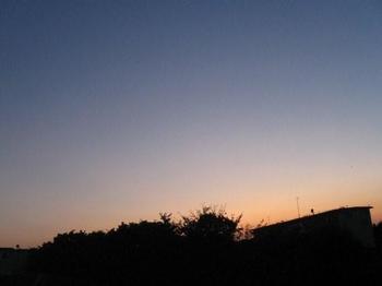夕方6時 夕日が落ちて・・・.jpg