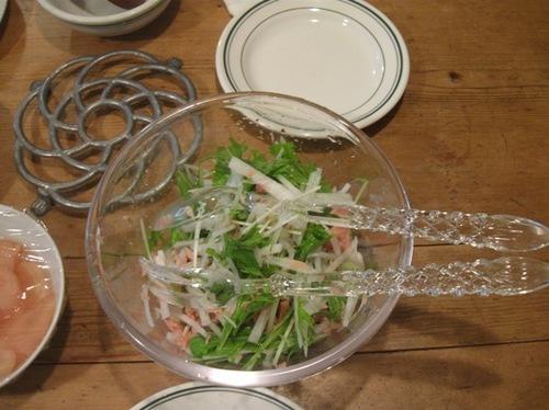 大根と水菜とツナのサラダ .jpg