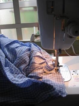 数年前に作ったスカート 少し短く作り直し♪.jpg