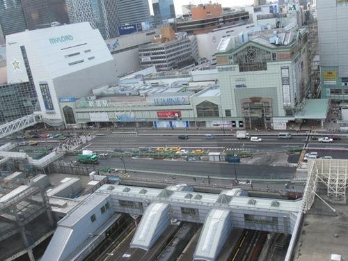 新宿駅を見下ろしています.jpg