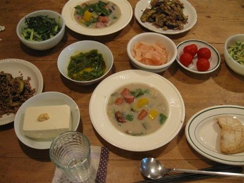 野菜ばかりの夕食♪.jpg