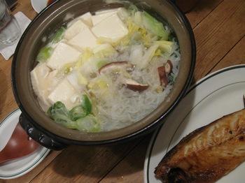 魚と豆腐(笑)疲れたから手抜きですー;-.jpg