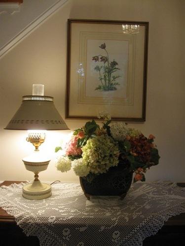 4日め 玄関に思い出の花が・・きくちゃんが上手行けてくれた♪.jpg