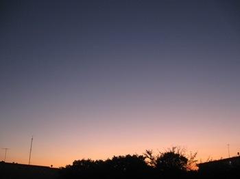 きれいな夕空です.jpg