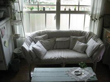 ずり落ちたソファーカバーを整え・・・.jpg