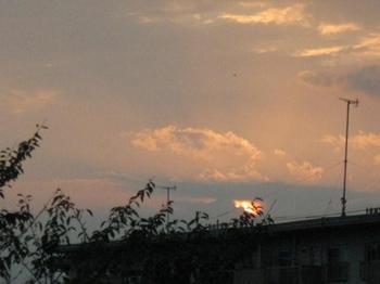 夕日はきれいだった 明日は晴れるかな?.jpg